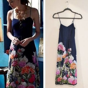 "Anthropologie Silk ""Aven Bloom"" Dress"